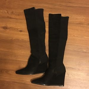 Stuart Weitzman Demiswoon Wedge Tall Boots